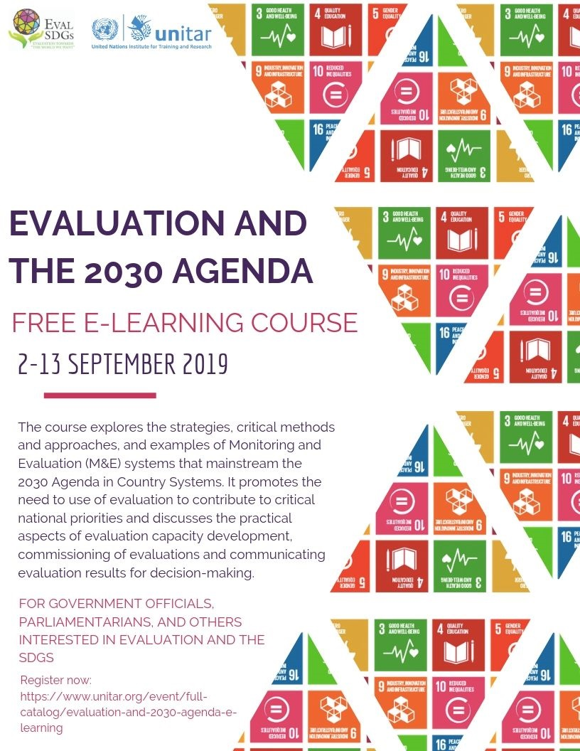Evaluation and the 2030 Agenda