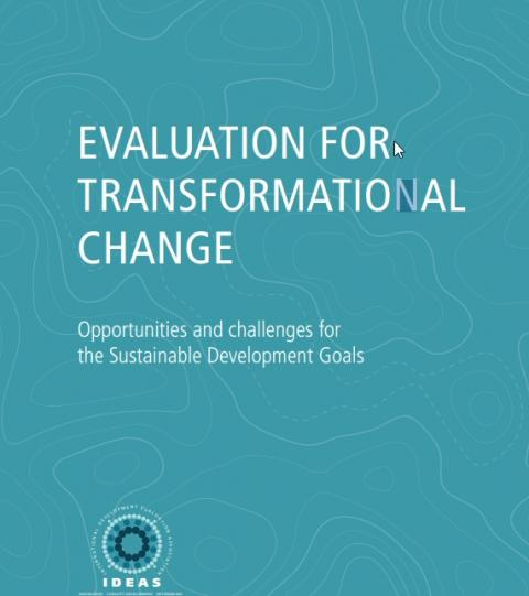 EVALUATION FOR TRANSFORMATIONAL CHANGE