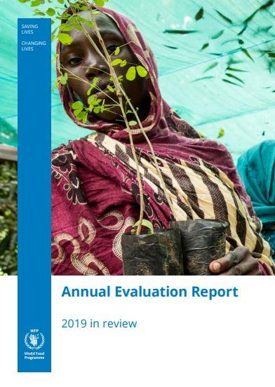 Cover WFP Annual Evaluation Report 2019
