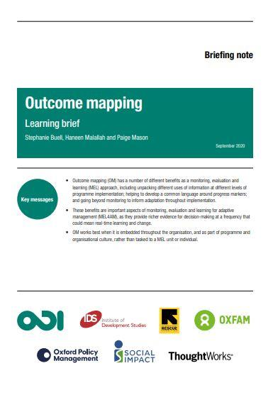 outcome mapping brief